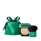 <p>All-over glow kit: powder highlighter and face and body brush</p> - HOLIDAY GEMS ALL OVER GLEAM KIT - KIKO MILANO