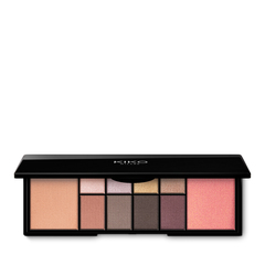 Palette with 4 multi-finish eyeshadows - WATERFLOWER MAGIC EYESHADOW PALETTE - KIKO MILANO