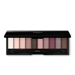 <p>Palette with 9 multi-finish eyeshadows: matte, pearly and metallic</p> - NEW GREEN ME EYESHADOW PALETTE - KIKO MILANO