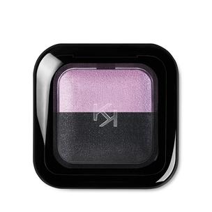 Sombra doble de ojos cocida y reposicionable para uso en seco y mojado - Bright Duo Baked Eyeshadow - KIKO MILANO
