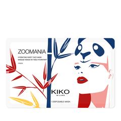 Maschera viso idratante in tessuto con disegno di rana - Zoomania - Frog - KIKO MILANO