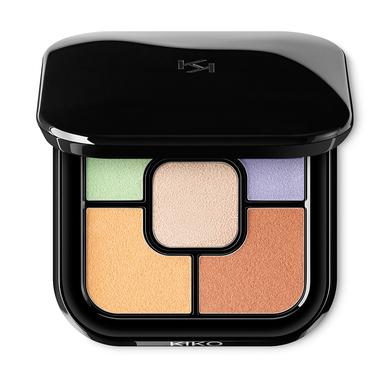 Palette de 5 correcteurs résistants à l'eau - Colour Correct Concealer Palette - KIKO MILANO