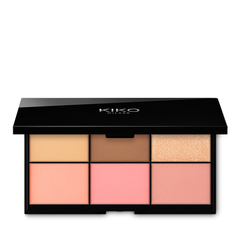 <p>Enlumineur visage compact deux teintes</p> - SICILIAN NOTES HIGHLIGHTER DUO - KIKO MILANO
