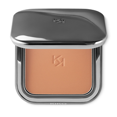 A silky smooth 2-in-1 baked bronzer and highlighter <br /> - 2-In-1 Bronzer & Highlighter - KIKO MILANO