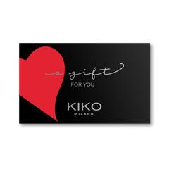 Tarjeta Promo regalo Kiko Milano