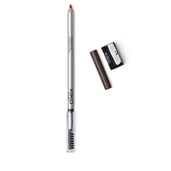 Coloured, fiber-enriched brow mascara for thick, polished eyebrows - Eyebrow Fibers Coloured Mascara - KIKO MILANO