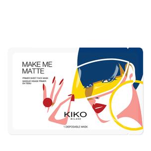 Mattifying priming sheet mask - Make Me Matte - KIKO MILANO