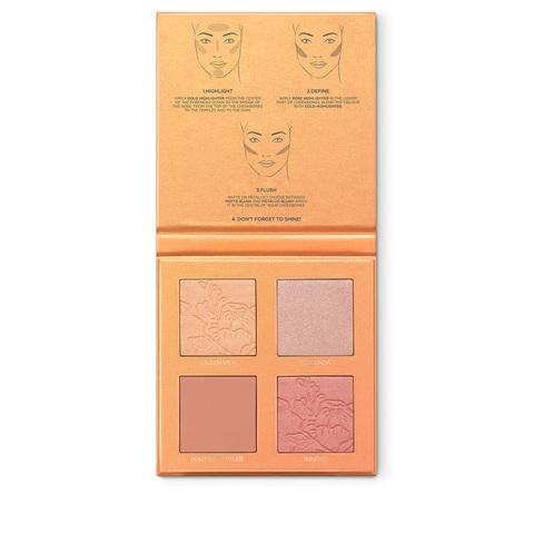 Palette Gesicht Highlighter und Rouge | TUSCAN SUNSHINE FACE PALETTE | Kiko Milano