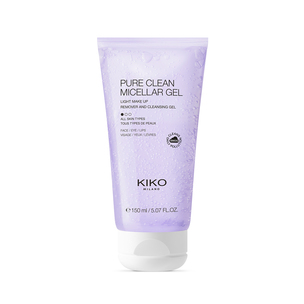 Micellar makeup removal gel for cleansing your face, eye contours and lips - PURE CLEAN MICELLAR GEL  - KIKO MILANO