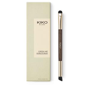 Paleta com 9 sombras com tonalidades nude em pó compacto - GREEN ME Eyeshadow Palette - KIKO MILANO