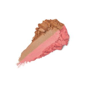 Pincel de corte oblíquo para blushes, pós bronzeadores e iluminadores, fibras naturais - Face 10 Blush Brush - KIKO MILANO