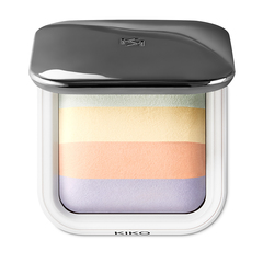 Setting and mattifying face powder - Invisible Touch Face Fixing Powder - KIKO MILANO