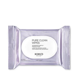 Eau micellaire biphasée nettoyante visage, contour des yeux et lèvres - PURE CLEAN MICELLAR BIPHASE WATER 200ML - KIKO MILANO
