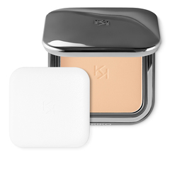 Retractable face powder brush with synthetic fibres - Smart Allover Powder Brush 104 - KIKO MILANO