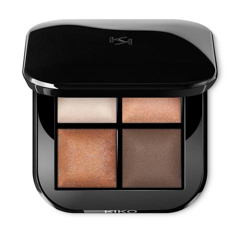 Palette mit 4 Lidschatten | Bright Quartet Baked Eyeshadow Palette | Kiko Milano