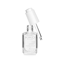 <p>Esmalte de uñas top coat, efecto purpurina</p> - GLITTER EFFECT NAIL TOP COAT - KIKO MILANO