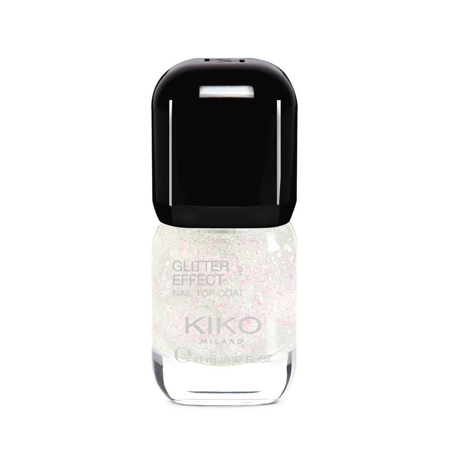 Купить GLITTER EFFECT NAIL TOP COAT 03, KIKO